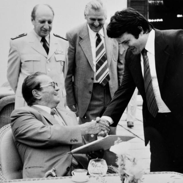 Tita je Politeo upoznao u Kumrovcu 1979.