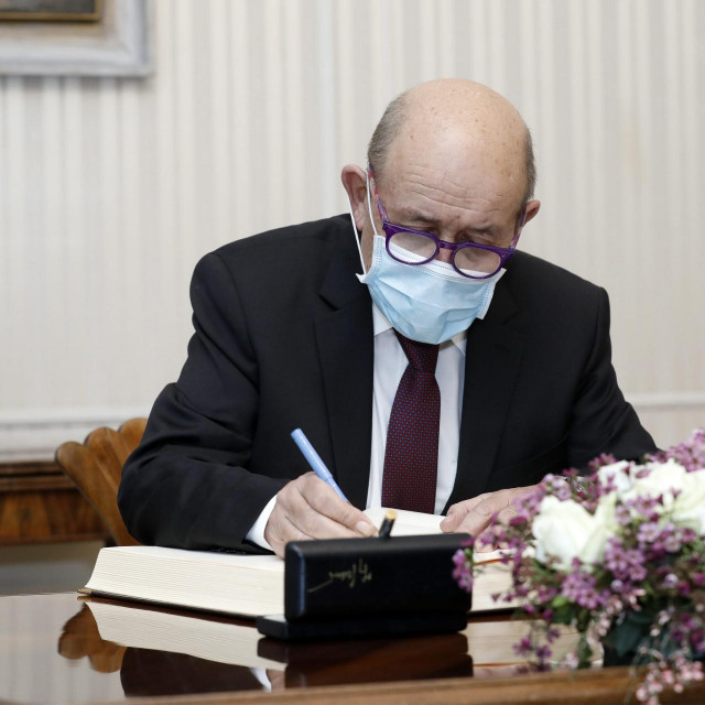 Ministar Le Drian u posjetu Hrvatskoj