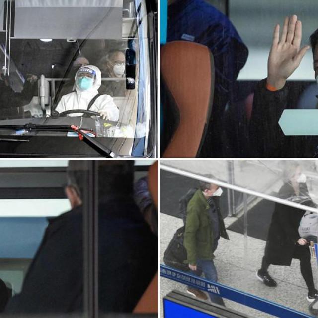 Tim znanstvenika stiže u Wuhan