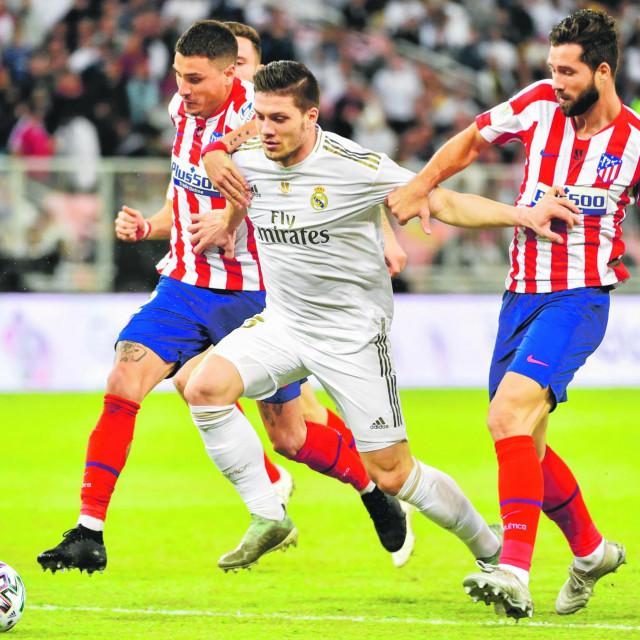 Luka Jović nije se naigrao ove sezone u Realu