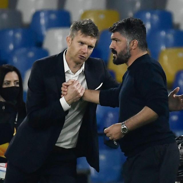 Rožman nakon utakmice protiv Napolija