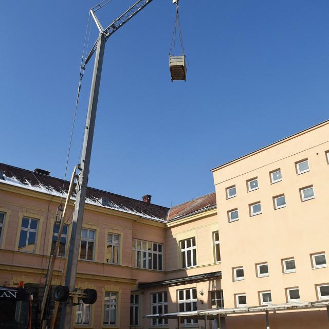 Štete u Karlovcu / Ilustracija