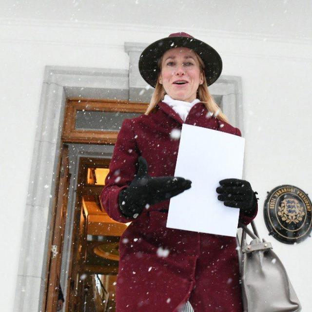 Kaja Kallas je bivša europarlamentarka i kći nekadašnjeg premijera Siima Kallasa