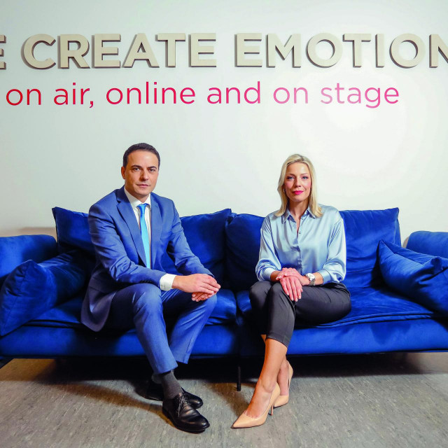 Damira Gregoret i Adrian De Vrgna, novi voditeljski par RTL Danas.