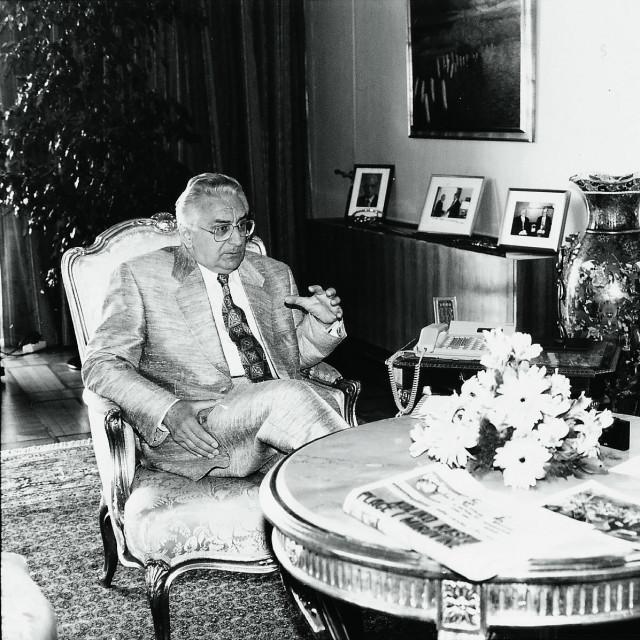 Franjo Tuđman i Branko Tuđen