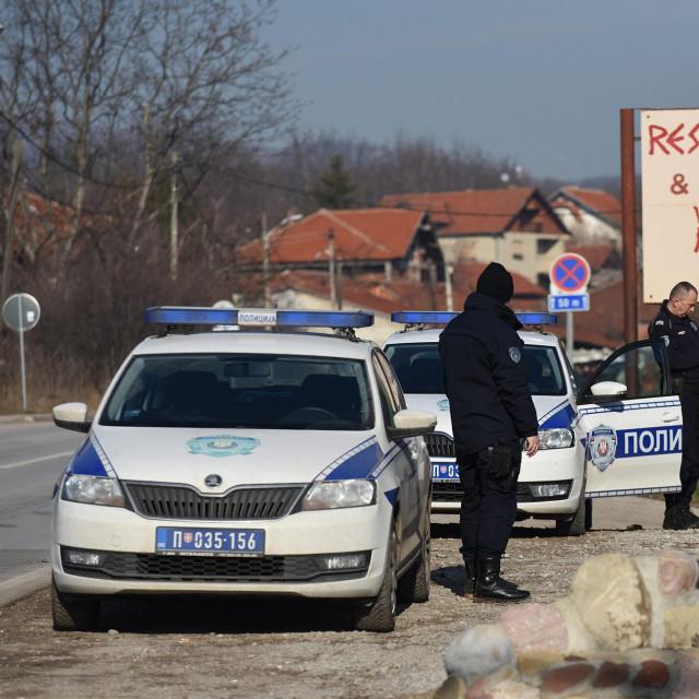 Ilustracija, srbijanska policija
