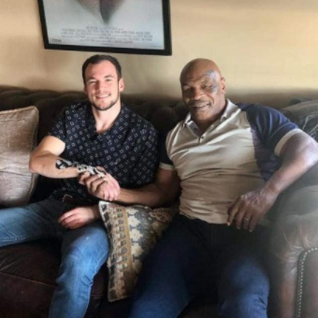 Uroš Medić i Mike Tyson