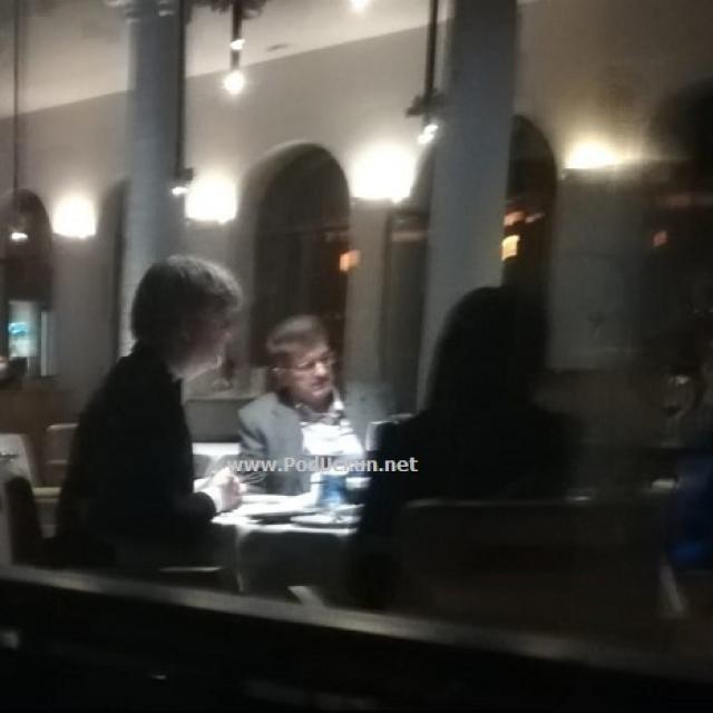 Sporna večera u hotelu Bevanda