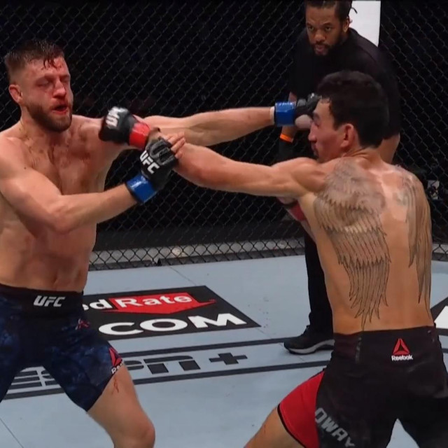 Calvin Kattar vs. Max Holloway