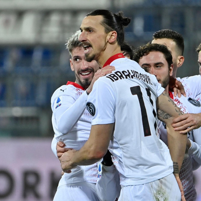 Zlatan Ibrahimović zabio je dva gola u susretu