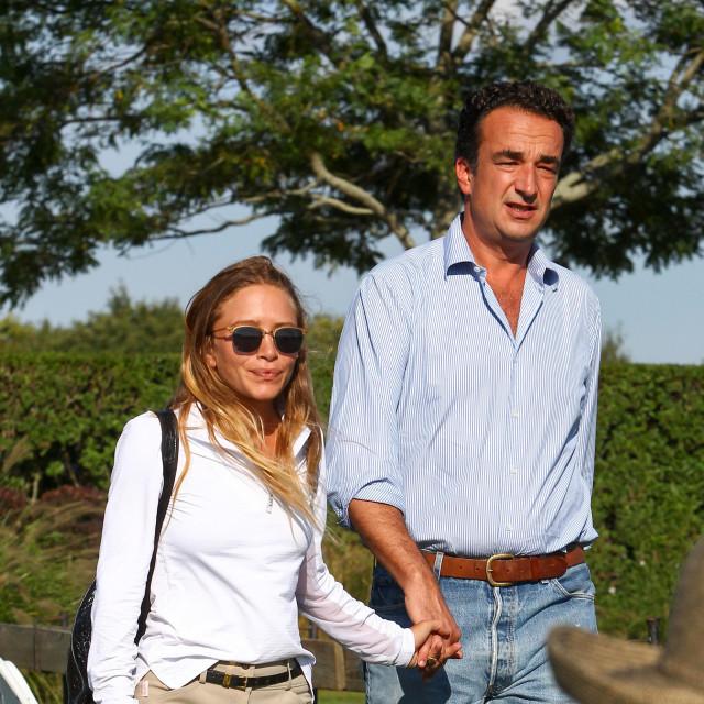 Mary-Kate Olsen i Olivier Sarkozy snimljeni 2015.
