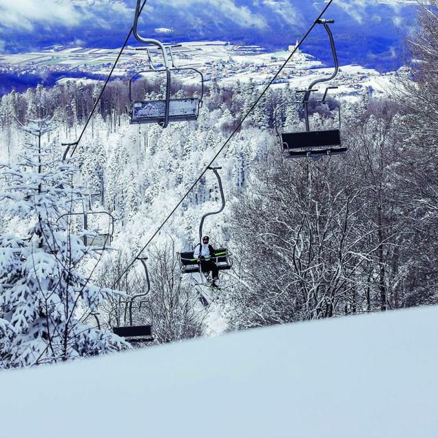 Sezona skijanja na Medvednici je otvorena