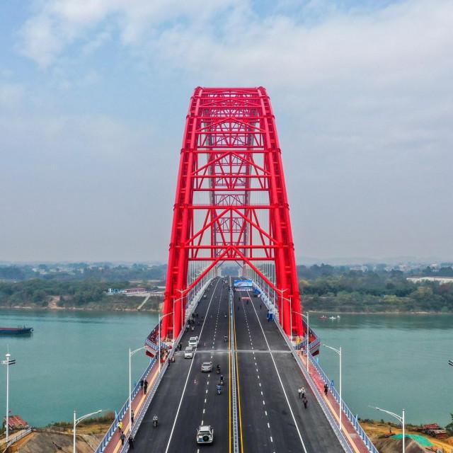 Third Pingnan Bridge u Kini, dovršen ove godine
