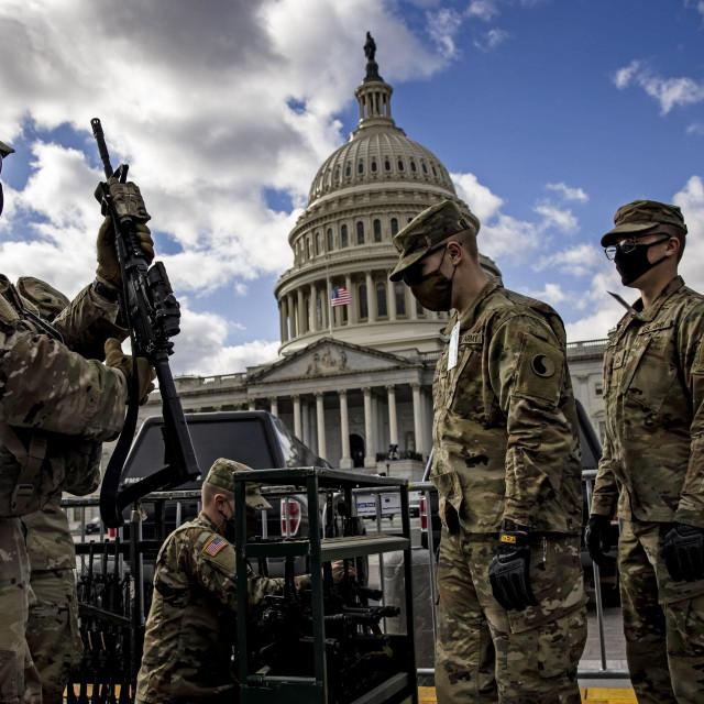 Nacionalna garda na Capitolu