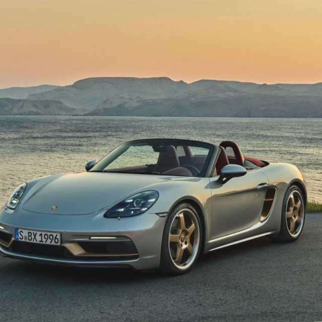 Porsche Boxter na Jadranskoj magistrali