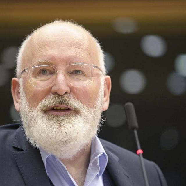 Izvršni potpredsjednik Europske komisije Frans Timmermans