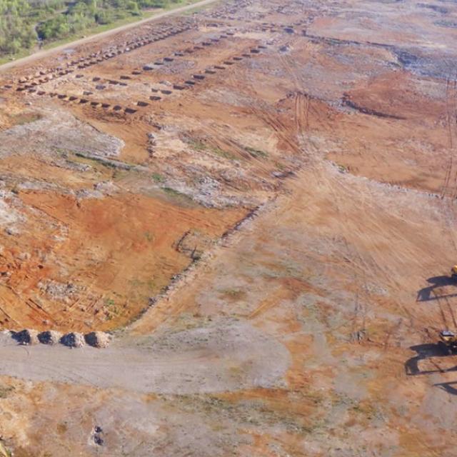 Zemljište na kojem će niknuti tvornica podnih obloga Pervanovo Invest AB