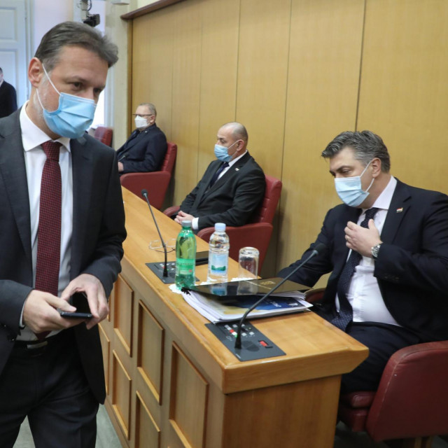 Andrej Plenković i Gordan Jandroković