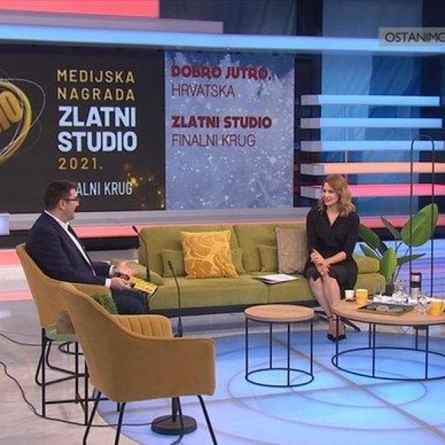 Goran Ogurlić, glavni urednik Jutarnjeg lista u emisiji 'Dobro jutro, Hrvatska'