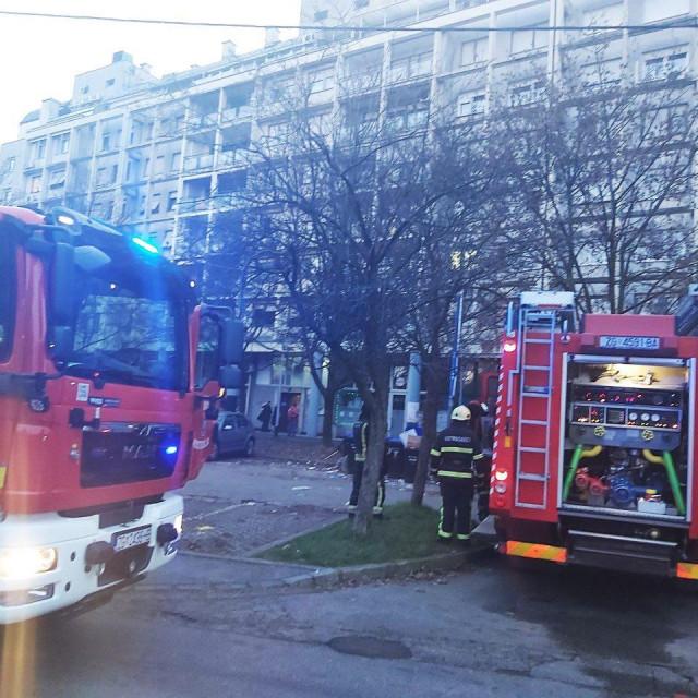 Vatrogasci u Unskoj ulici