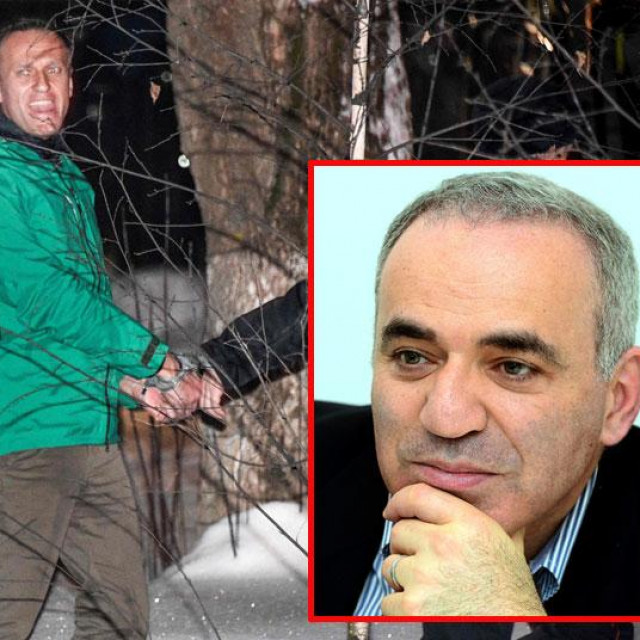 Aleksej Navaljni i Gari Kasparov