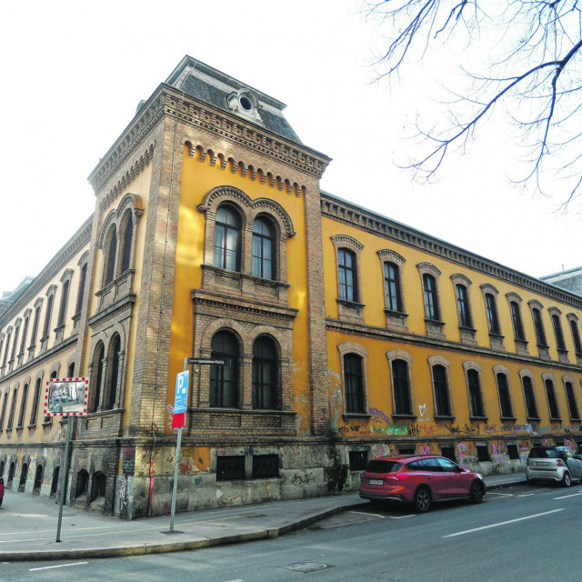 Zgrada Tvornice duhana Zagreb