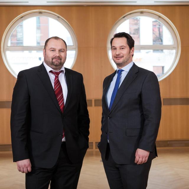 Tihomir Zadražil i Juraj Pezelj, direktori BKS Bank AG, Glavna podružnica Hrvatska