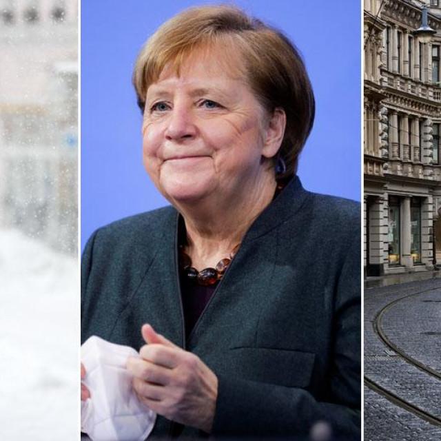Angela Merkel, prizori iz Njemačke