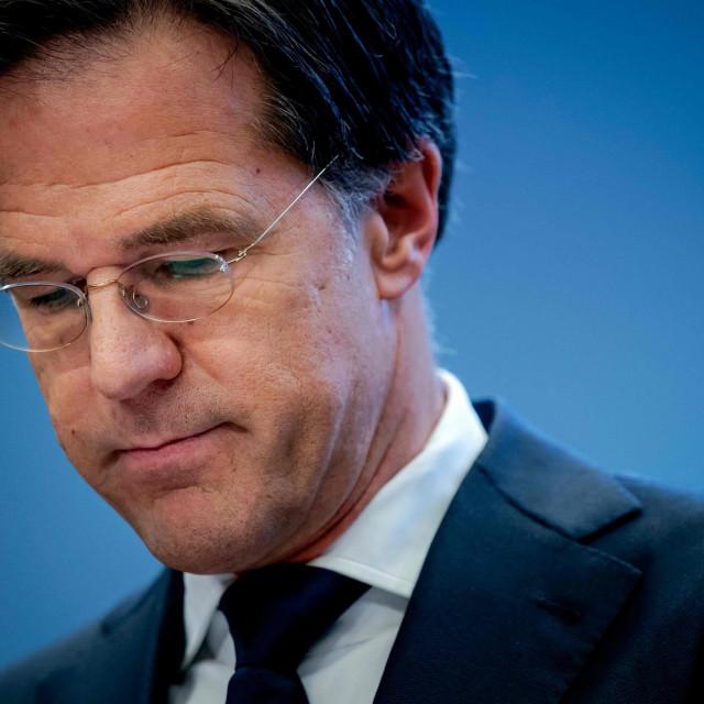Premijer <strong>Mark Rutte</strong>