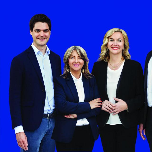 Karlo Ressler, Sunčana Glavak, Željana Zovko i Tomislav Sokol