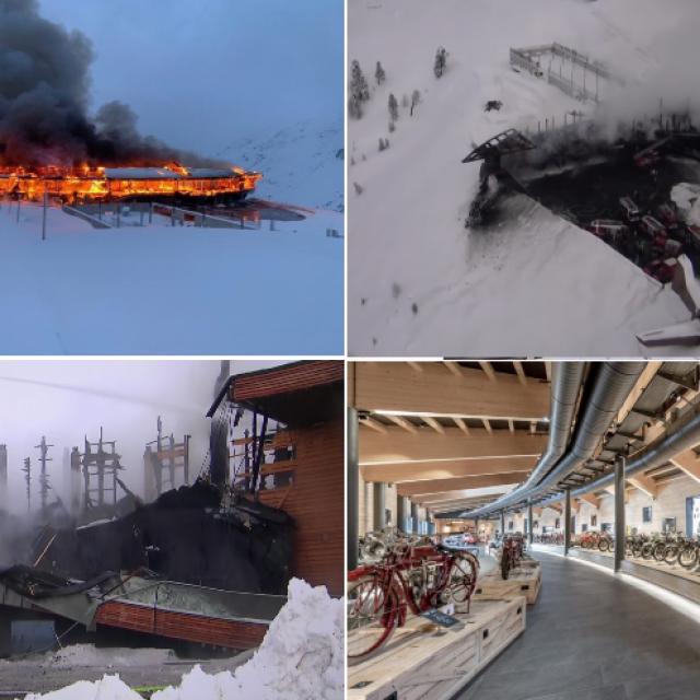 Izgorjeli muzej u Tirolu