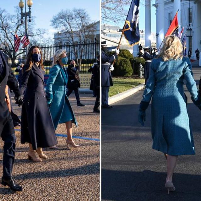 Joe i Jill Biden pri dolasku u Bijelu kuću