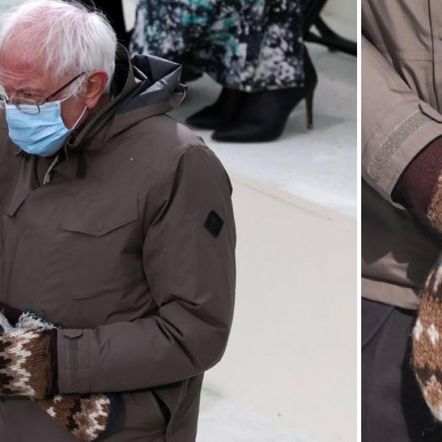 Bernie Sanders i njegove rukavice na Bidenovoj inauguraciji