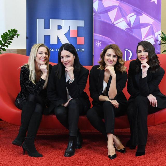 Daniela Trbović, Doris Pinčić, Jelena Lešić i Barbara Kolar
