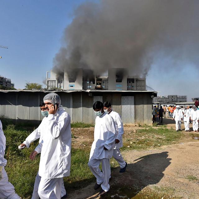 Požar u Indiji