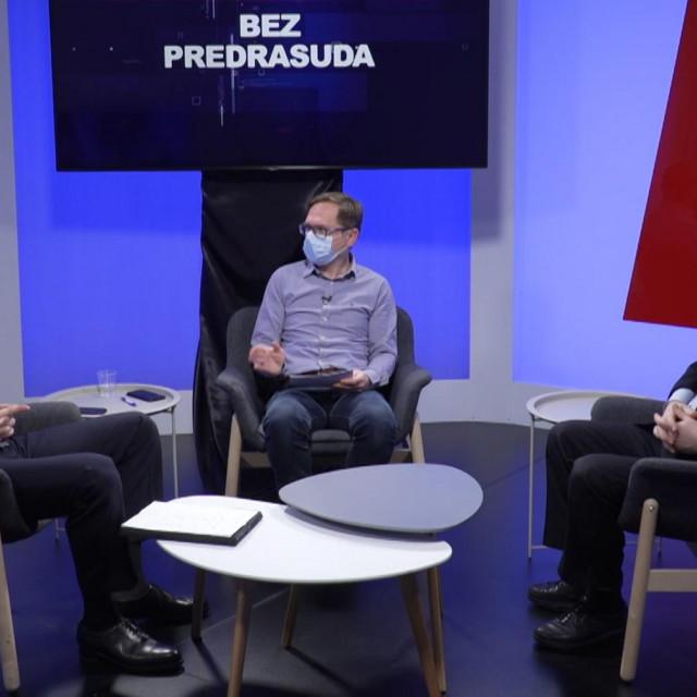 Miro Kovač i Ivo Josipović