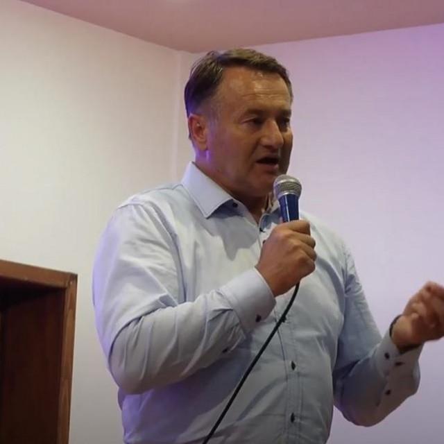 Ivo Žinić, govor u Marinbrodu 2017. godine