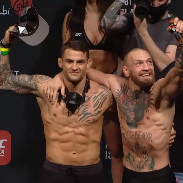 Dustin Poirier i Conor McGregor