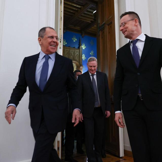 Sergej Lavrov i Peter Szijjarto