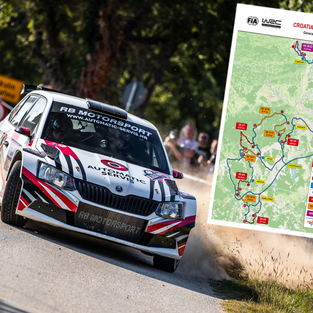 WRC u Hrvatskoj itinerer