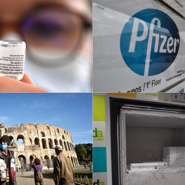 Pfizer je ugovorno obavezan Italiji do kraja ožujka isporučiti 8.635.154 doze za vakcinaciju i 6.642.991 dodatnu dozu za revakcinaciju