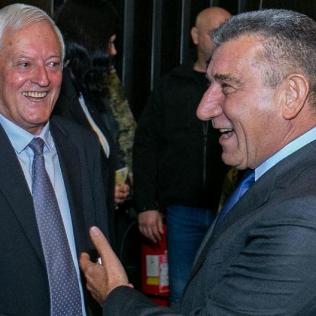 Luka Džanko s Antom Gotovinom (desno)