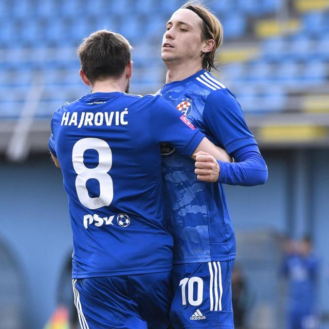 Hajrović i Majer u slavlju