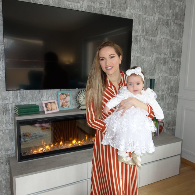 Pamela Ramljak i kći Maria