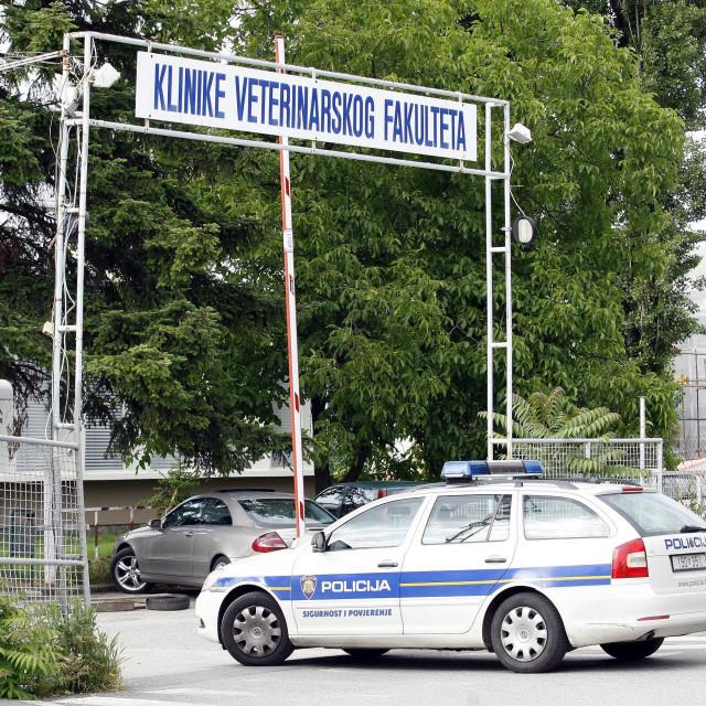 Dolazak policije na Veterinarski fakultet (ilustrativna fotografija)