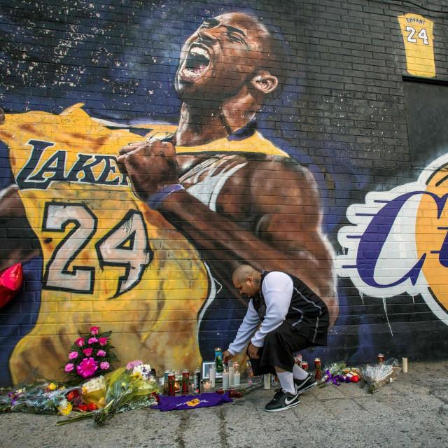 Mural posvećen Kobeu u Los Angelesu