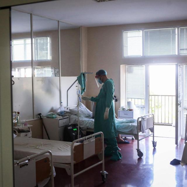 Ilustracija, bolnica u Beogradu