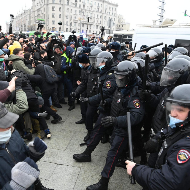 demonstracije u Moskvi