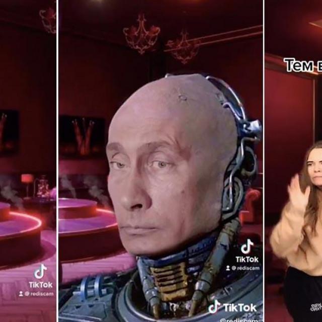 Rusi se rugaju Putinovoj palači