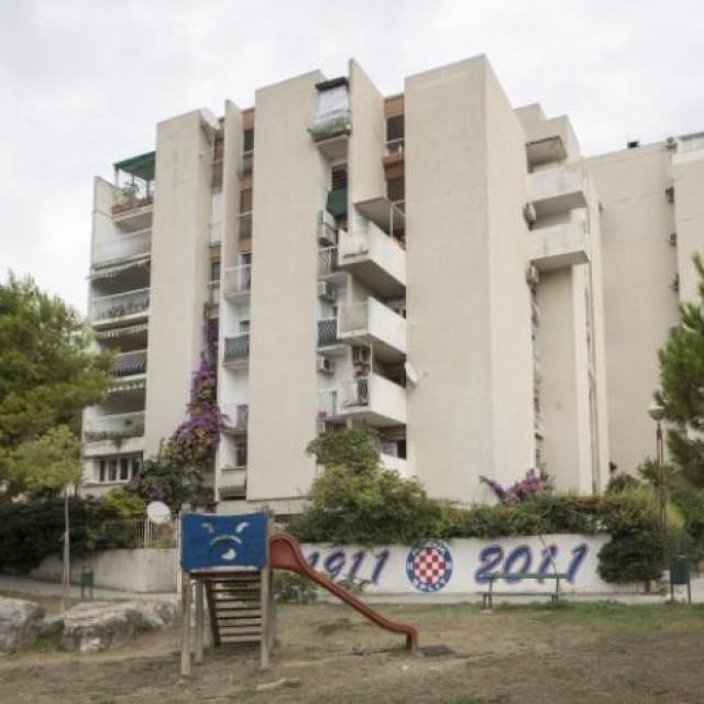 Zgrada u Ljubićevoj ulici u Splitu